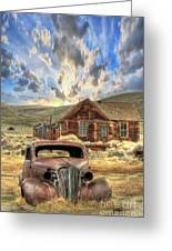 Bodie Ghost Town Greeting Card