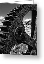 Bodie Ghost Town Gear Greeting Card