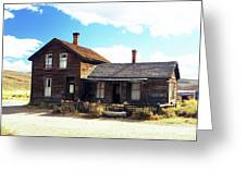 Bodie Houses Greeting Card
