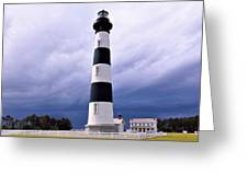 Bodie Island Contrast Greeting Card