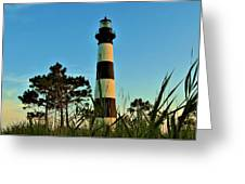 Bodie Island Evening Greeting Card