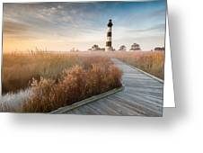 Bodie Island Lighthouse Cape Hatteras National Seashore North Carolina Greeting Card