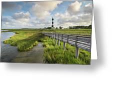 Bodie Island Lighthouse North Carolina Greeting Card