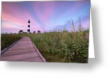 Bodie Island Obx Sunrise Greeting Card