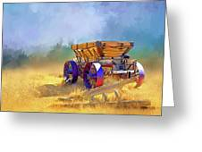 Bodie Ore Wagon Painted Greeting Card