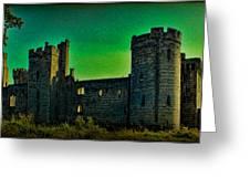 Bodium Castle Panorama Greeting Card