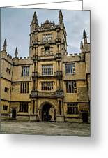 Bodleian Library Main Gate Greeting Card