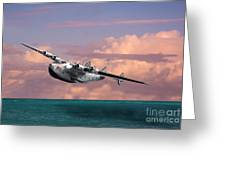 Boeing 314 Clipper Greeting Card