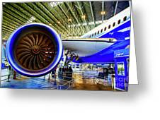 Boeing 787 Exterior Greeting Card