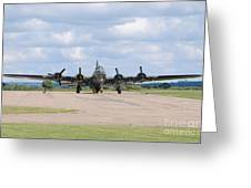 Boeing B-17 Flying Fortress Sally B Greeting Card