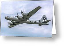 Boeing B-29 Superfortress Fifi In Flight Greeting Card