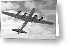 Boeing B29 Superfortress Greeting Card