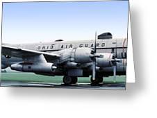 Boeing Kc-97l Stratotanker 22630, Dayton Ohio Greeting Card