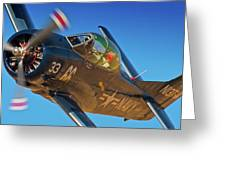 Boeing North American T-38 Race 66 Reno Air Races 2010 Greeting Card by Gus McCrea