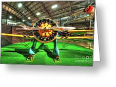 Boeing P-26a Greeting Card