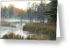 Bog Fog Greeting Card