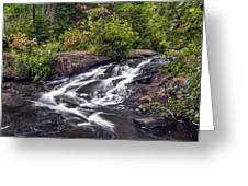 Bog River Cascade Greeting Card
