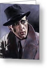 Bogart Greeting Card