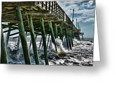 Bogue Inlet Pier Greeting Card