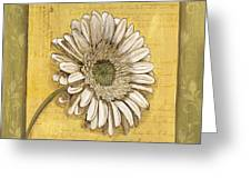 Bohemian Daisy 1 Greeting Card