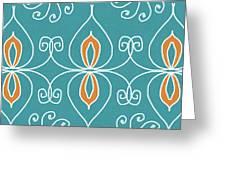 Boho Ornamental 3- Art By Linda Woods Greeting Card
