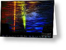 Boiling Colors Greeting Card