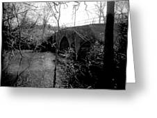 Boiling Springs Bridge Greeting Card
