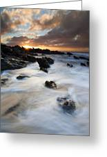 Boiling Tides Greeting Card