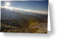 Boise Ridge Greeting Card