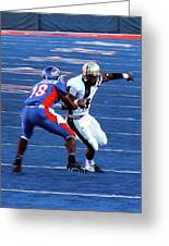 Boise State Great Gerald Alexander Greeting Card