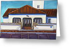Boise Train Depot Greeting Card