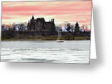 Boldt Castle 12  Greeting Card