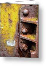 Bolted Iron Greeting Card