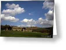 Bolton Abbey Wharfedale Near Skipton North Yorkshire England Greeting Card