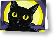 Bombay Moon Greeting Card