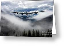 Bomber Threat Greeting Card