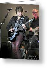 Bon Jovi Guitarist Richie Samboro Greeting Card