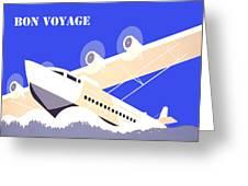 Bon Voyage 1 Greeting Card