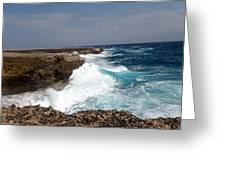 Bonaire North Shore 2 Greeting Card