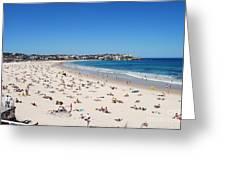 Bondi Beach In Sydney Australia Greeting Card