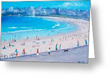 Bondi Beach Summer Greeting Card