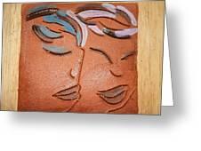 Bonds - Tile Greeting Card