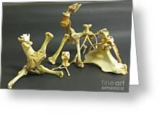 Bone Creatures One Greeting Card