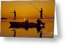 Bone Fishing Florida Keys Greeting Card