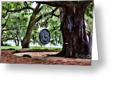 Bonggggg Rip Van Winkle Gardens Paint  Greeting Card