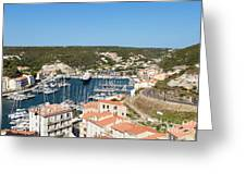 Bonifacio Harbor Greeting Card