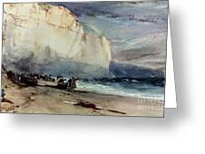 Bonington, Cliff, 1828 Greeting Card