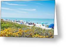 Bonita Beach Greeting Card