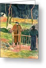 Bonjour Monsieur Gauguin Greeting Card