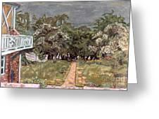 Bonnard: Balcony, 1909-10 Greeting Card